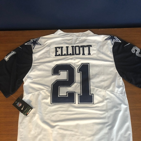 buy online 8f54a 729a9 Dallas Cowboys Ezekiel Elliott Jersey Nike Large NWT